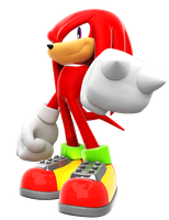 Knuckles The Echidna Re-render by FinnAkira