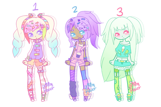 Candy Pastel Adopts [closed] by hello-planet-chan