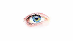 practising digitally drawing an eye by StevenARTify