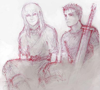 Teenage Guts and Griffith by Aim2