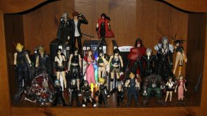My FF7 Figure collection by Allen-Blade
