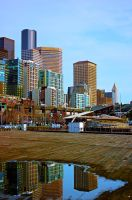 Seattle reflected1 by Mackingster