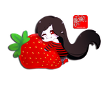: StrawBerry : by Isaddesu