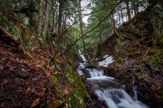 Mosher Hill Falls - Farmington, Maine 02 by Riot207Photography