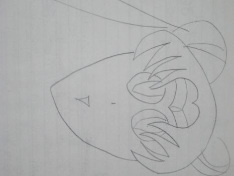 1st Grade Sailor Moon drawing by Zellimia