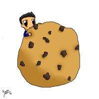 Carlos Eating A Big Ass Cookie by sclirada