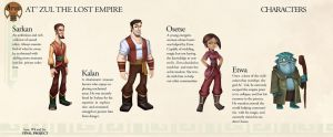 At'Zul the Lost Empire Characters by Sprintener