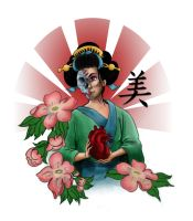 Geisha Tattoo idea 1 by huskertim27