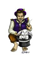 Bungo the Halfling Wizard by Syreene