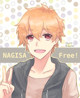 Free! Nagisa by BlackTwin-Shiro