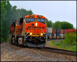 BNSF 7808 ES44DC by Pavloff-Photos