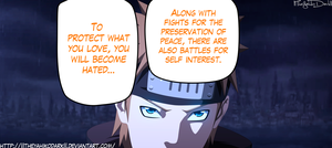 Naruto 607 To Keep The Peace by IITheYahikoDarkII