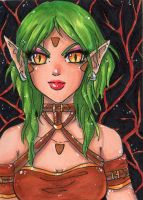 ACEO 3 : Aaia by Solceress