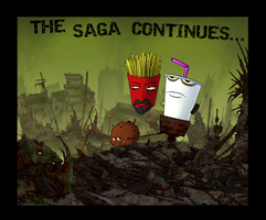 Aqua Teen Hunger Force by MAGGOTDETH