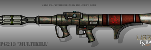 Fictional Firearm: HC-RPG213 [Multikill] by CzechBiohazard