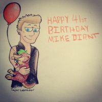 Happy Birthday Mike Dirnt! by wintershield