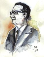 Salvador Allende by Aquagraphics