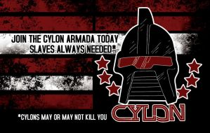Cylon Business Card by thegrimace