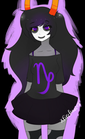 female!gamzee by xFireflowers