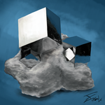 Mineral Study - Pyrite by Tobal-gz