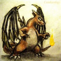 Charizard with Blade Wings by Conker651