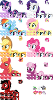 MLP 16-32 bit Charater Sprite Templates v1.01 by WalrusInc