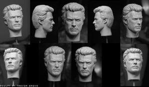 Clint Eastwood by TrevorGrove