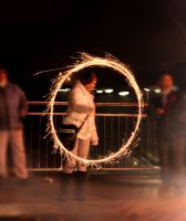 Fun with Sparkler by mceric