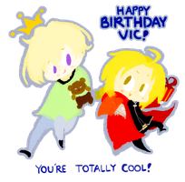 For Vic Mignogna by sapphii