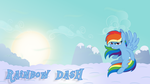 Rainbow Dash Wallpaper by a-jewel-of-rarity