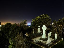 Sky High Cemetery by MaxK-W