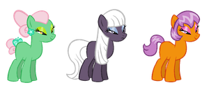 Simple Oriental Ponies CLOSED by BronyBase