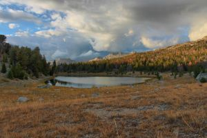 Mirror Lake in the Wind River Range by Halcyon1990