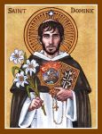 St. Dominic icon by Theophilia