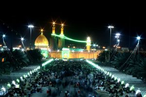 abbas holy shrine by silentart08