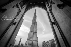 The framed Burj by ahmedwkhan