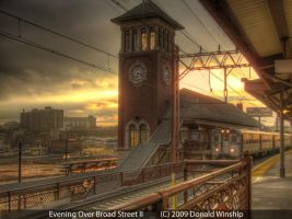 Evening Over Broad Street II by The-Nightshift