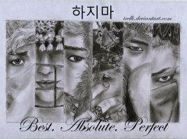 B.A.P Hajima ~ drawing by Trelli