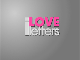 I Love Letters Wallpaper by nymphont