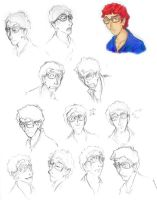 Percy Studies by xanykaos