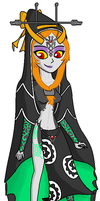 Midna's TrueForm :D by Luifex
