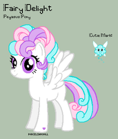 MLP - Fairy Delight Reference Sheet by porcelian-doll