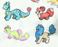 More Adopts! (CLOSED) by HobbaGobwin