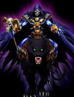 Mighty Evil Lord Skeletor by deadwoodman