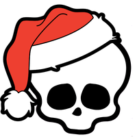 MH: Santa Skullette Stock by KPenDragon