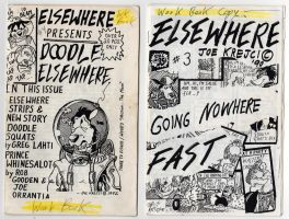Original Elsewhere Ashcan 3 and 4 by Joe5art