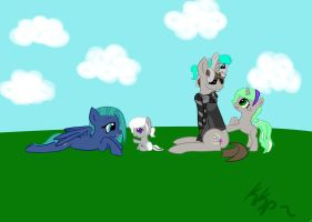 Shady and kids by kkp101