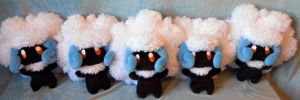 Shiny Whimsicott horde :D (up for sale) by Rens-twin