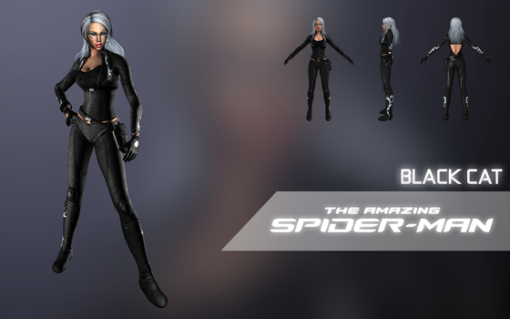 Black Cat (The Amazing Spider-Man) (update 1) by LEMOnz07