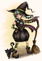 Little Witch by MiiBT